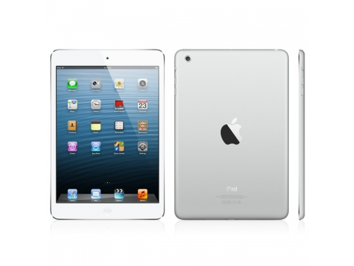 Планшет Apple iPad mini 4 64Gb Wi-Fi + Cellular Silver MK732RU/A, вид 1