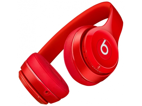 Гарнитура bluetooth Beats Solo2 Wireless (MHNJ2ZE/A), красная, вид 5