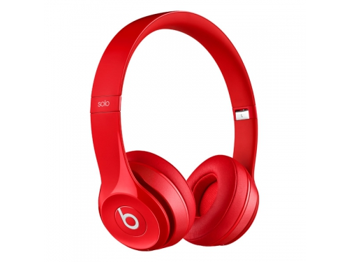 Гарнитура bluetooth Beats Solo2 Wireless (MHNJ2ZE/A), красная, вид 1