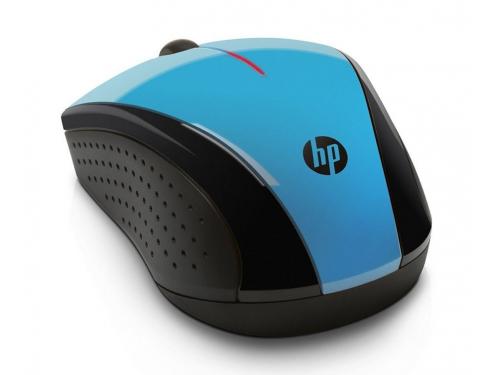 ����� HP K5D27AA Wireless X3000 Black-Blue USB (����������), �����-�������, ��� 1