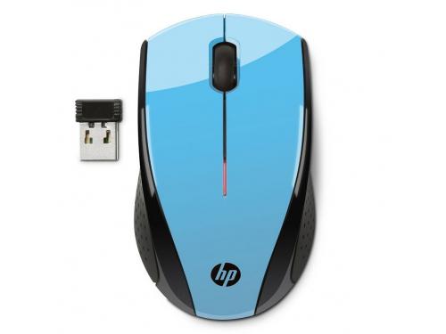 ����� HP K5D27AA Wireless X3000 Black-Blue USB (����������), �����-�������, ��� 2
