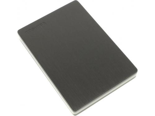 Жесткий диск Toshiba Store.E 1TB (USB3.0, 2.5'', HDTD210EK3EA), чёрный, вид 1