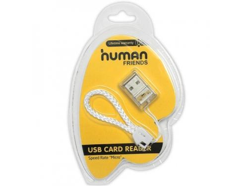 Устройство для чтения карт памяти CBR Human Friends Speed Rate Micro белое, вид 1