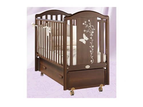 Детская кроватка Feretti Privilege Swing Орех, вид 1