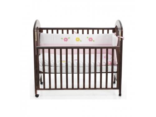 Детская кроватка Fiorellino Fiore 12347 орех, вид 1