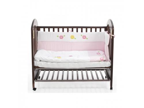 Детская кроватка Fiorellino Fiore 12347 орех, вид 3