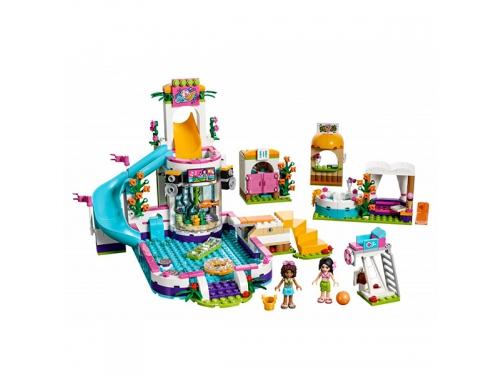Конструктор Lego Friends Летний бассейн, вид 3