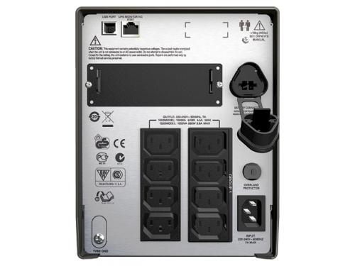 Источник бесперебойного питания APC by Schneider Electric Smart-UPS 1000VA LCD 230V, вид 2