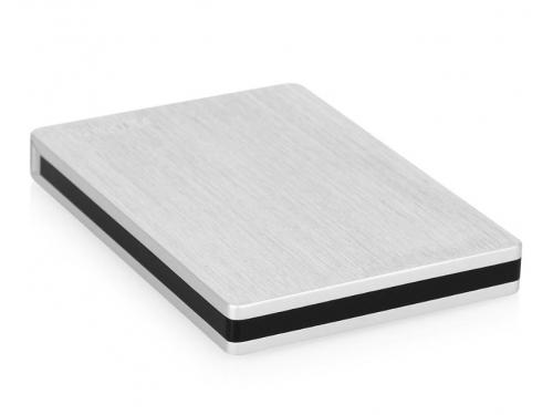 Жесткий диск Toshiba STOR.E SLIM 1TB, серебристый, вид 2