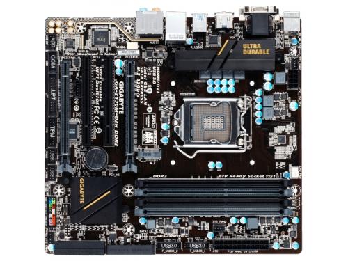 Материнская плата Z170M-D3H DDR3 Soc-1151 Z170 DDR3, вид 2
