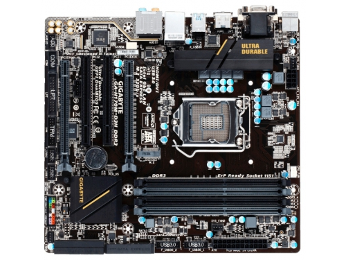 ����������� ����� GIGABYTE GA-H170M-D3H DDR3 Soc-1151 H170 DDR3, ��� 2