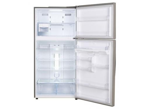 Холодильник LG GR-M802HMHM нержавеющая сталь, вид 2