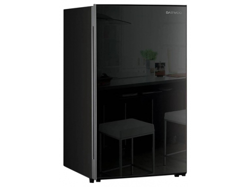 Холодильник Daewoo Electronics FN-15B2B чёрный, вид 1