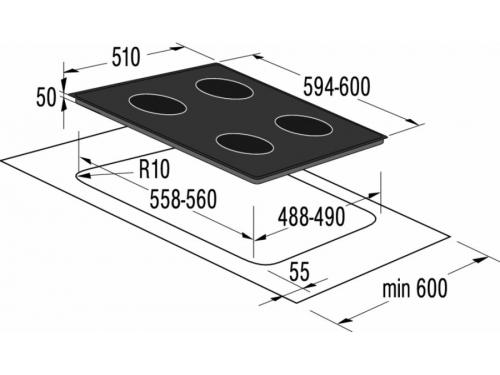 Варочная поверхность Gorenje EC630RW, вид 2