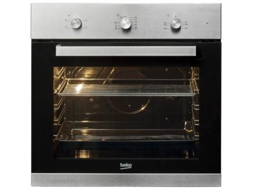 Духовой шкаф Beko BIC 22100 X серебристо-черный, вид 1