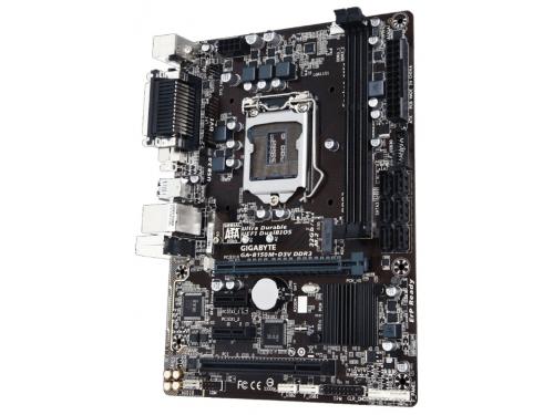 Материнская плата GIGABYTE GA-B150M-D3V DDR3 Soc-1151, вид 1