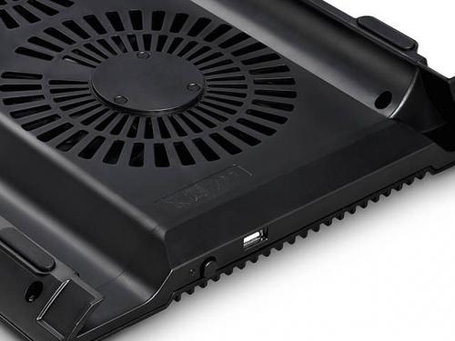 Подставка для ноутбука DEEPCOOL N8 (охлаждающая, 17''), чёрная, вид 5