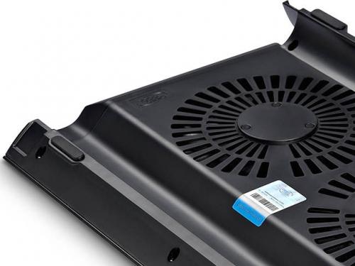 Подставка для ноутбука DEEPCOOL N8 (охлаждающая, 17''), чёрная, вид 6