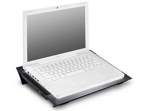 Подставка для ноутбука DEEPCOOL N8 (охлаждающая, 17''), чёрная, вид 7
