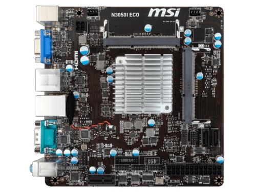 Материнская плата MSI N3050I ECO with Intel® Celeron, вид 2