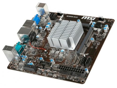 Материнская плата MSI N3050I ECO with Intel® Celeron, вид 3