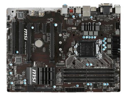 ����������� ����� MSI H170A PC MATE Soc-1151, ��� 2