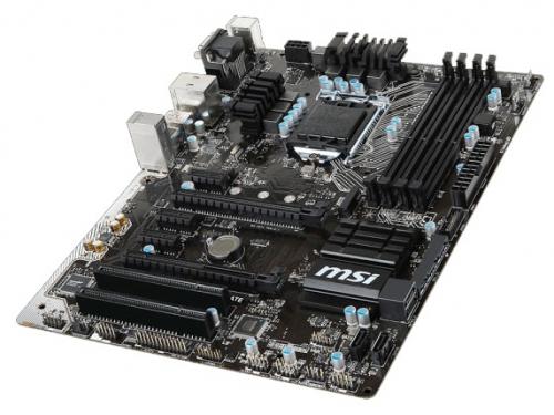 Материнская плата MSI B150 PC MATE (ATX, LGA1151, Intel B150), вид 3