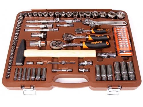 Набор инструментов OMBRA OMT131S (универсальный, 131 предмет), вид 2