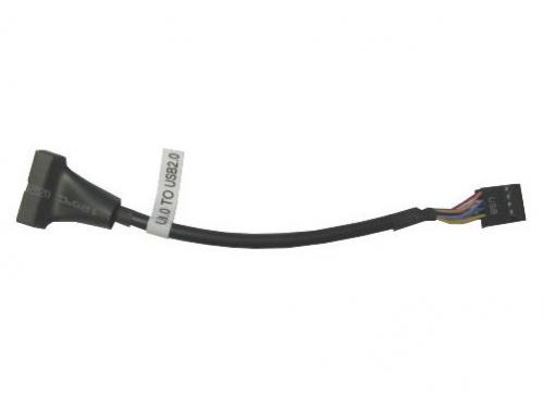 Кабель (шнур) Espada EPOW10pin20pin, переходник USB2.0 header (F) — USB 3.0 header (M), 15 см, вид 1
