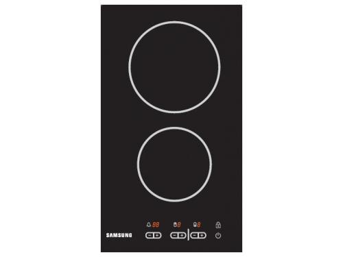 Варочная поверхность Samsung CTR432NB02 черная, вид 1