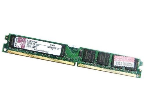Модуль памяти Kingston KVR800D2N6/2G (2 Гб, DDRII DIMM, низкопрофильный), вид 1
