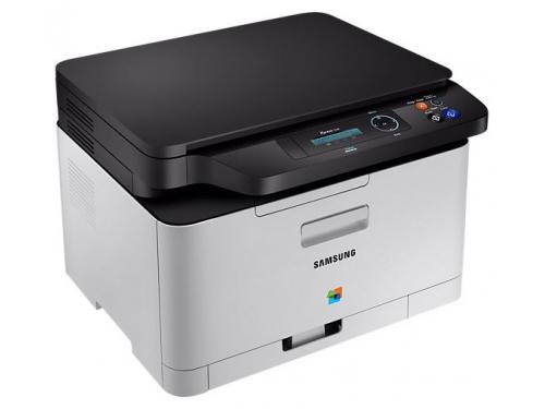 МФУ SAMSUNG SL-C480, лазерное цветное, вид 1