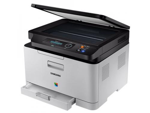 МФУ SAMSUNG SL-C480, лазерное цветное, вид 3