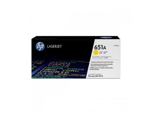 Картридж HP 651A Желтый, вид 1
