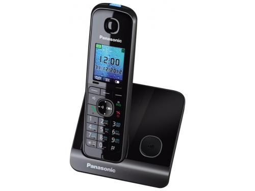 Радиотелефон Panasonic KX-TG8151RUB DECT, черный, вид 1