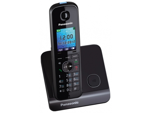 Радиотелефон Panasonic KX-TG8151RUB DECT, черный, вид 2