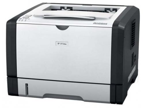 Лазерный ч/б принтер Ricoh Aficio SP 311DN, вид 1