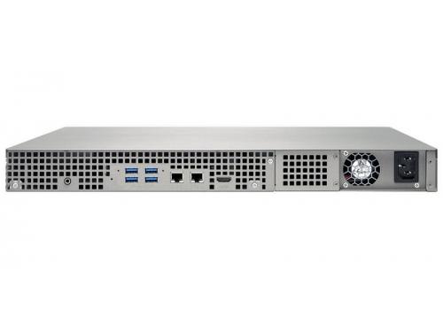 Сетевой накопитель QNAP TS-451U (без дисков, 4 отсека, серверное оборудование, 1U), вид 5