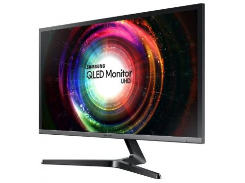 Монитор Samsung U28H750UQI, черный, вид 1