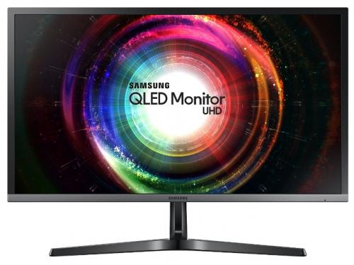 Монитор Samsung U28H750UQI, черный, вид 2