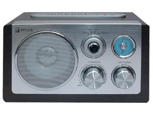 Радиоприемник Сигнал БЗРП РП-318 серебристый, вид 1