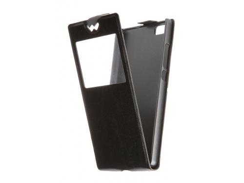 Чехол для смартфона Huawei P8 Lite skinBOX, Slim AW, T-S-HP8L-001 цвет Черный, вид 1