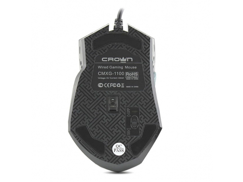 ����� CROWN CMXG-1100 BLAZE Black USB (6 ������), ��� 3