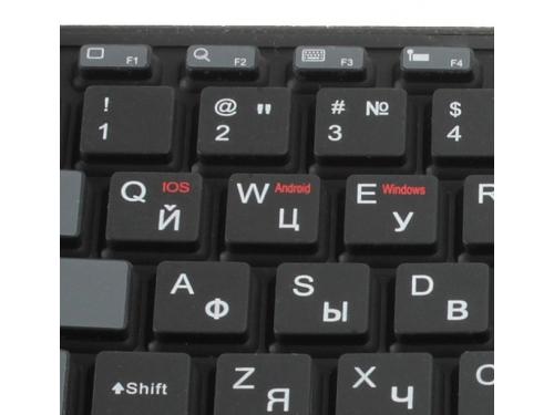 Клавиатура CROWN CMK-6001 (88 кнопок, силиконовая, Bluetooth, 2xAAA), вид 4