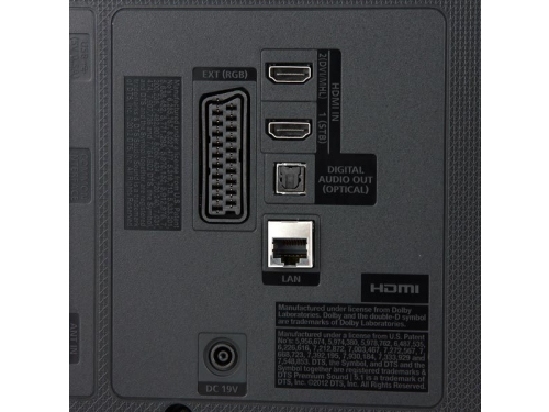 телевизор SAMSUNG UE32J4500AK, чёрный, вид 6