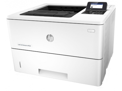 Лазерный ч/б принтер HP LaserJet Enterprise M506dn, вид 1