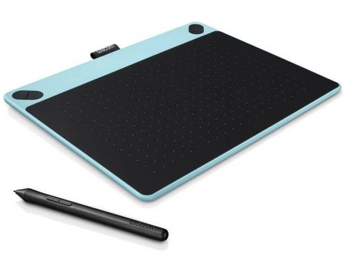 Планшет для рисования WACOM Intuos Art Pen & Touch Medium Tablet, голубой, вид 1