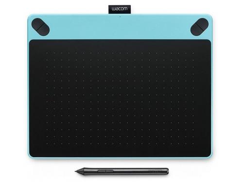 Планшет для рисования WACOM Intuos Art Pen & Touch Medium Tablet, голубой, вид 2