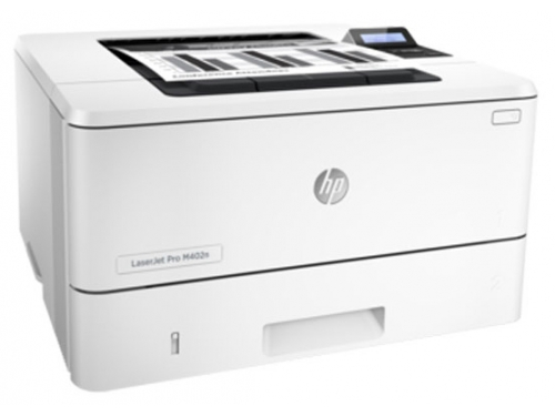 Лазерный ч/б принтер HP LaserJet Pro M402dn, вид 1
