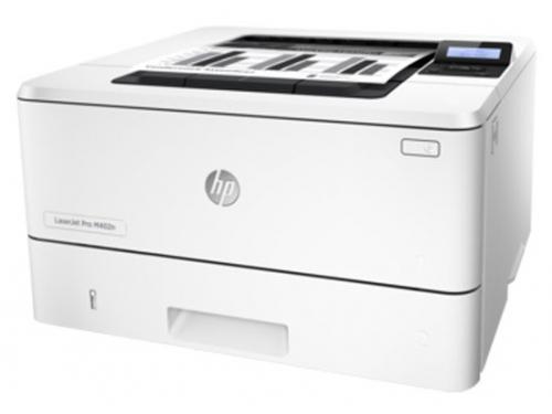 Лазерный ч/б принтер HP LaserJet Pro M402d (C5F92A), вид 3